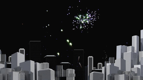 Fireworks Video Animation