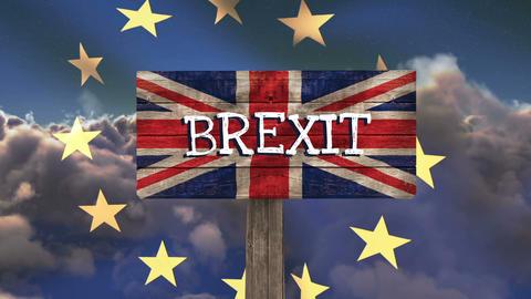 EU Flag Video Animation