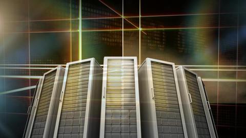 Server Room Video Animation