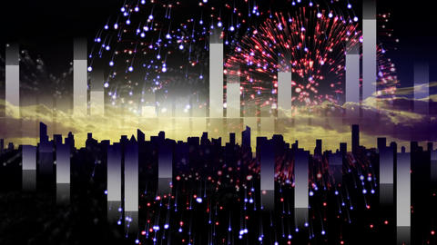 Animated firework video Animation