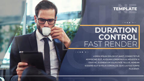 Clean Corporate Promo After Effects Template