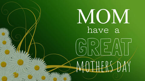 Mothers day Card Video Animation