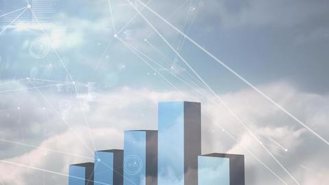 Digital composite of sky Animation