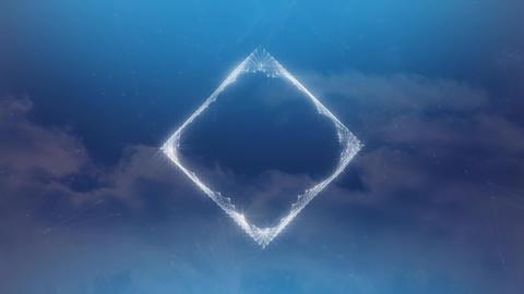 Diamond crystal digital art Animation