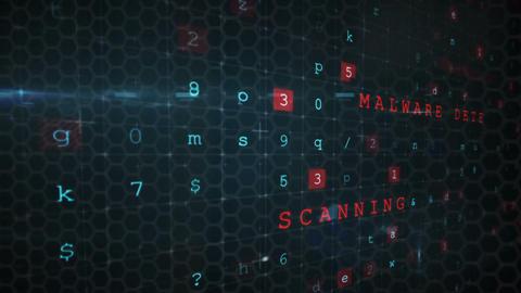 Digital data hacking 4k Animation