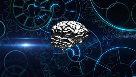 Brain technology Animation