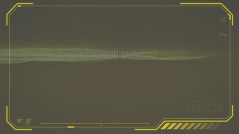 Digital composite of a digital screen Animation