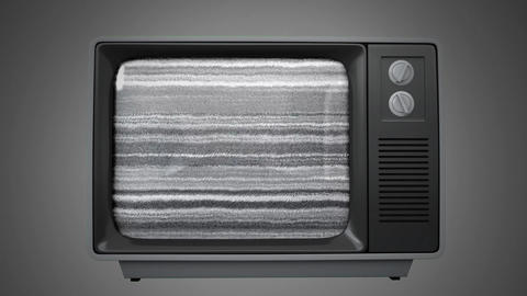 Old television Animation