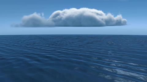 Calm ocean Animation