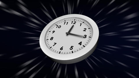 Working clock Animation
