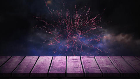 Fireworks in the sky Animation