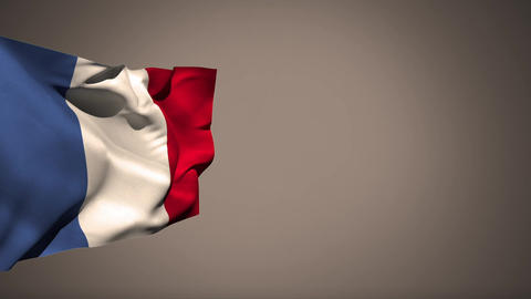 French flag Animation