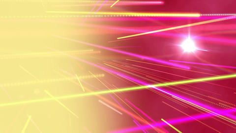 Beams of colourful light Animation