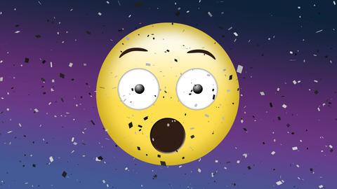 Animated surprised emoji Animation
