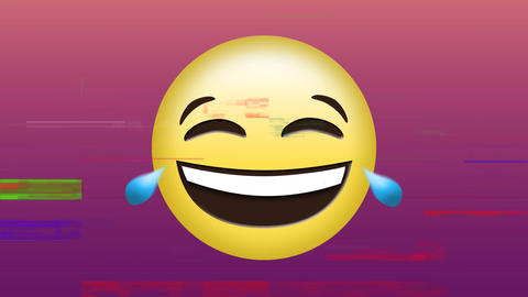 Laughing face emoji Animation