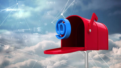 Red mailbox Animation
