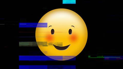 Smiling face emoji Animation
