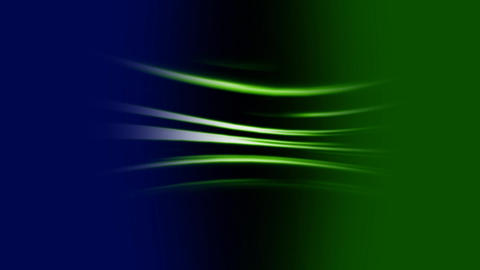 Green wavy lines Animation