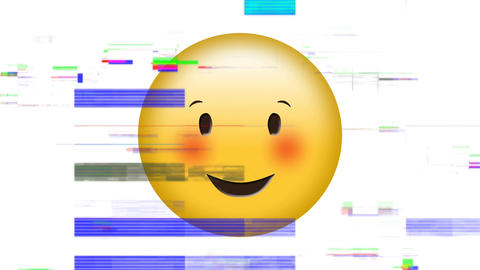 Smiling face with smiling eyes emoji Animation