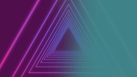 Structure with triangle shaped components Animation