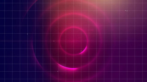 Concentric circles in a wormhole Animation