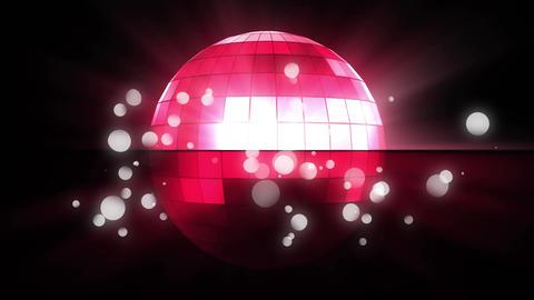 Rotating disco ball Animation