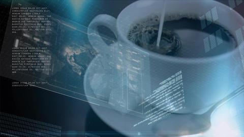 Coffee and statistics Animation