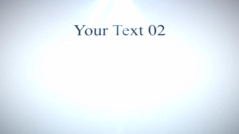 Simple Text Logo After Effects Template