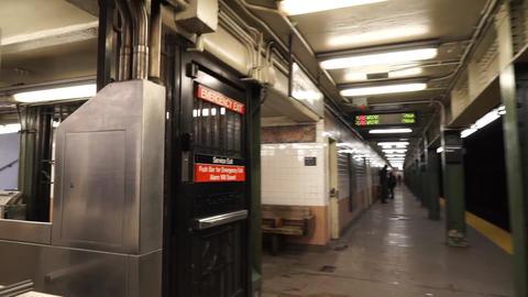 NewYork地下鉄002 Footage