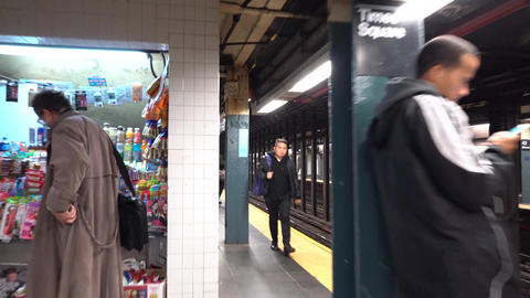 NewYork地下鉄003 ビデオ