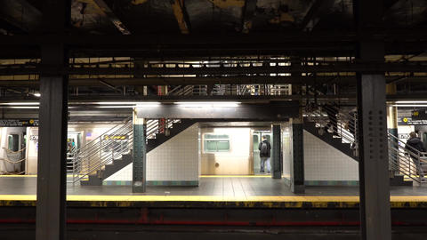 NewYork地下鉄005 Footage