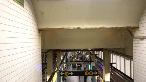 NewYork地下鉄009 Footage