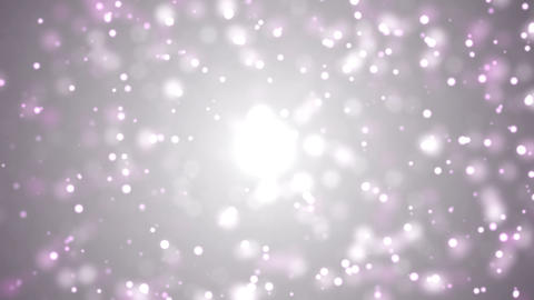 Bokeh Particles Animation