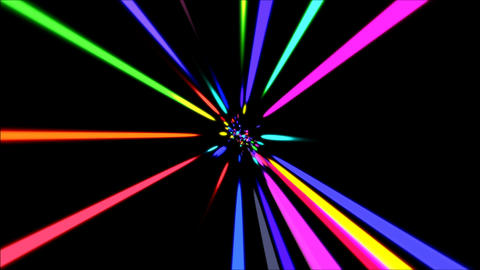 Laser Rays VJ Loop Stock Video Footage