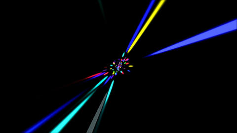 Laser Rays VJ Loop Animation
