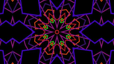 VJ Kaleidoscope Animation