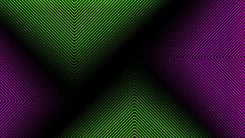 Colored Waves Loop Animation