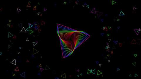 VJ Rainbow Colours Loop Animation