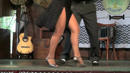 Argentina dance couple performing Footage