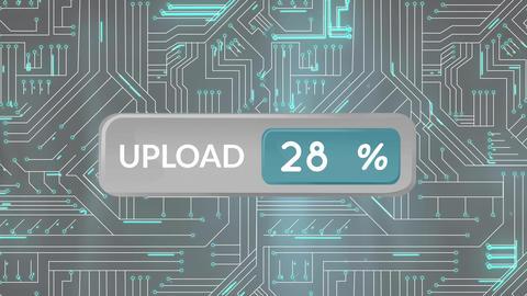 Upload progress bar Animation
