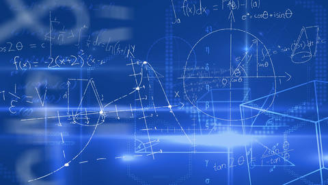 Mathematical equations and figures Animation