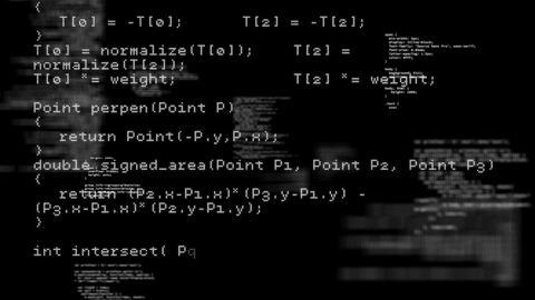Program codes Animation