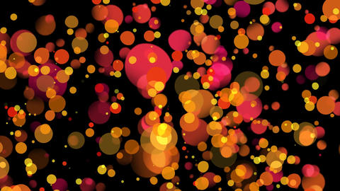 Colorful light bubbles Animation