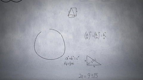 Mathematical equation Animation