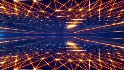 Cosmic Background Animation