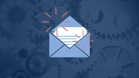Document in the mail Animation