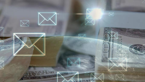 Sending money globally Animation