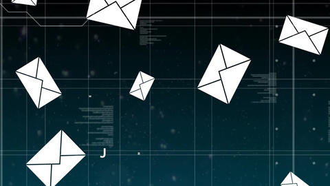 Digital messages Animation