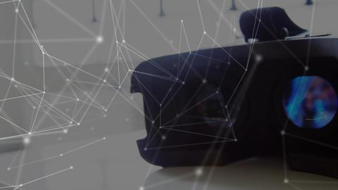 Virtual reality headset Animation