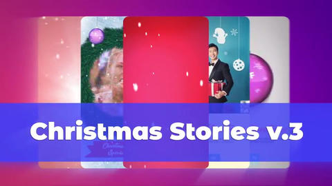 Christmas Instagram Stories v 3 After Effects Template